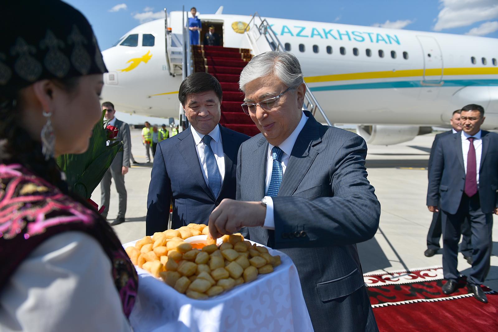 Бүгүн Касым-Жомарт Токаев Кыргызстанга мамлекеттик сапар менен келет