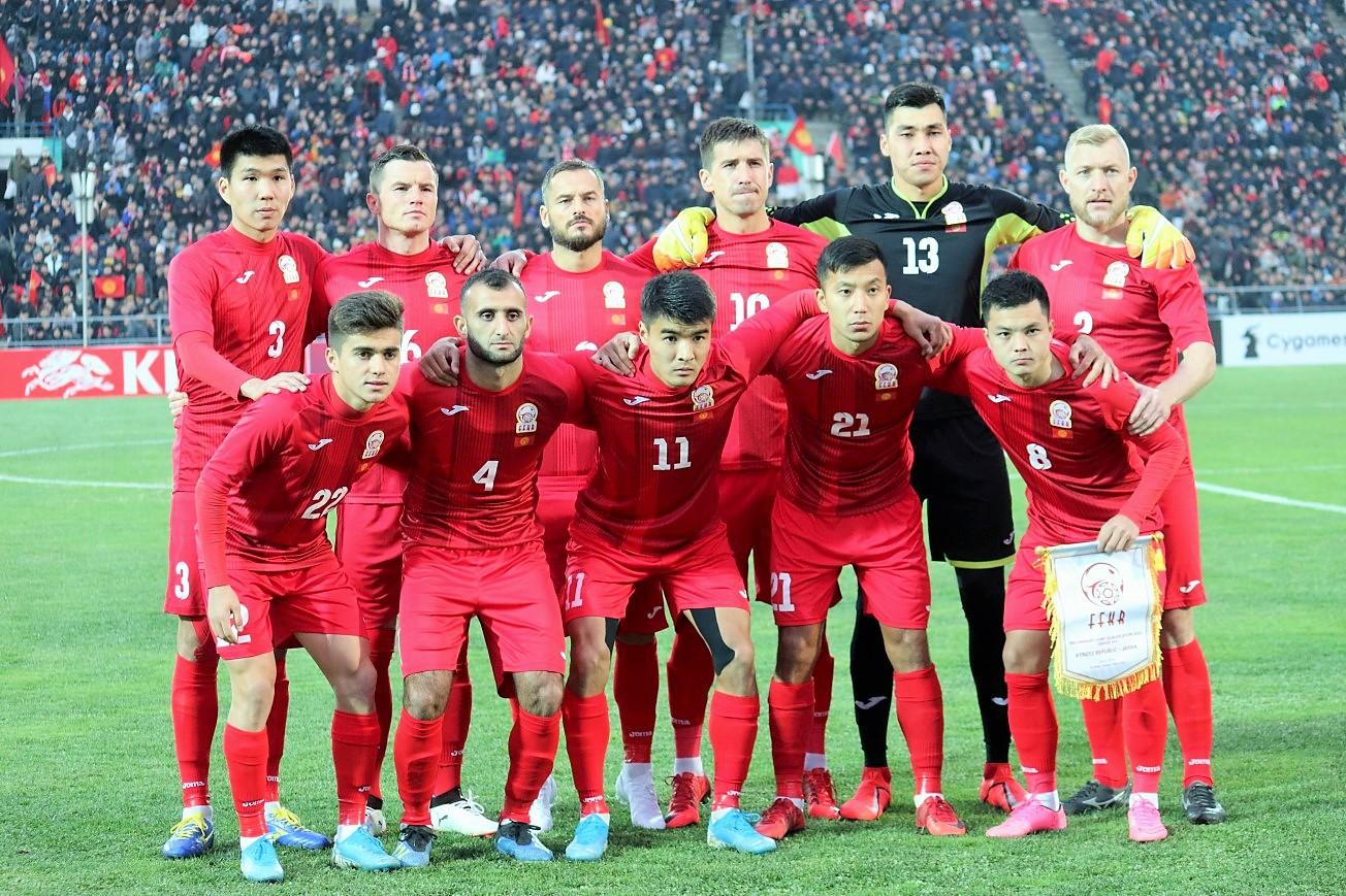 Футбол: Бүгүн Кыргызстан менен Тажикстан чечүүчү беттеш өткөрөт