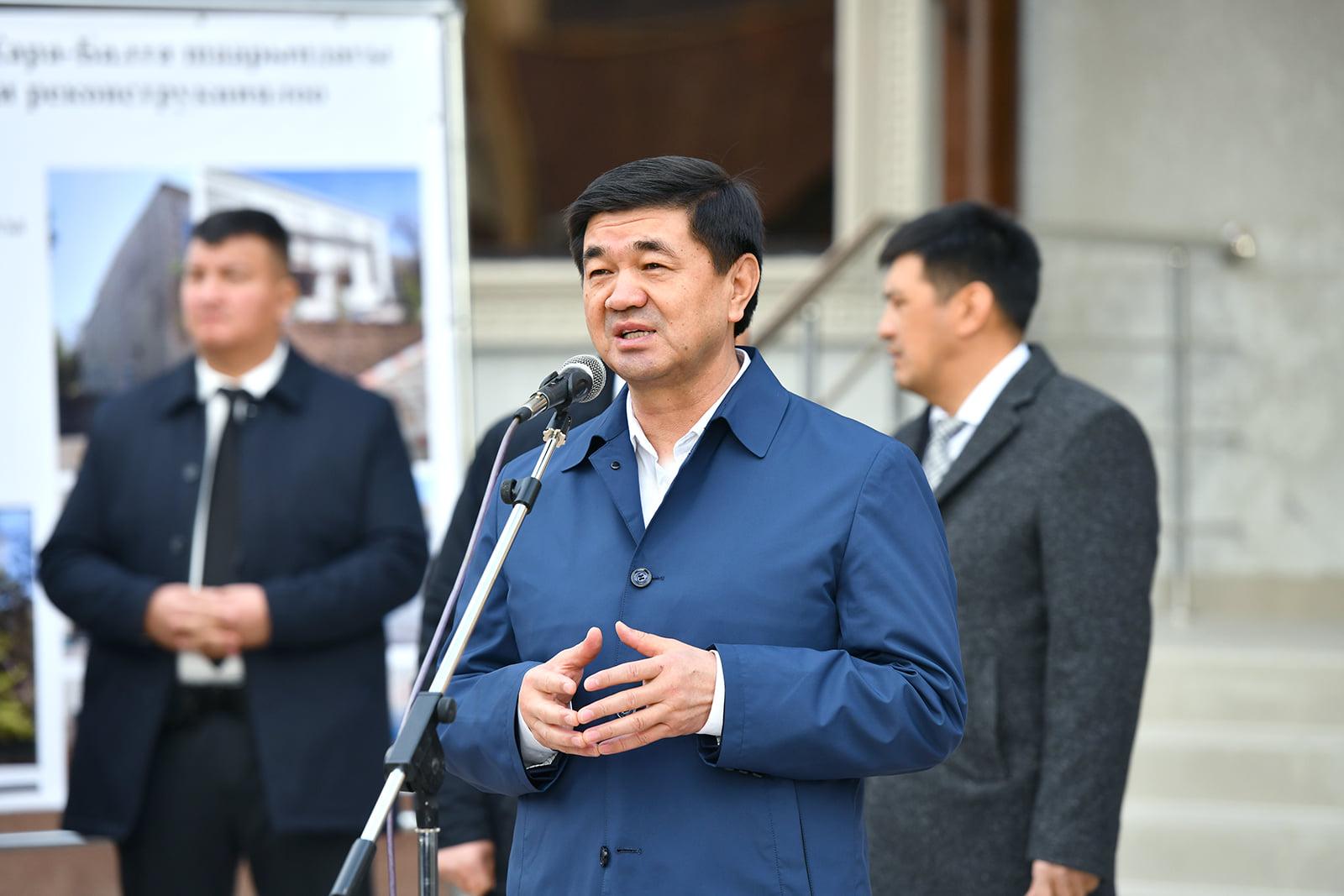 Премьер-министр Абылгазиев Нарынга барат