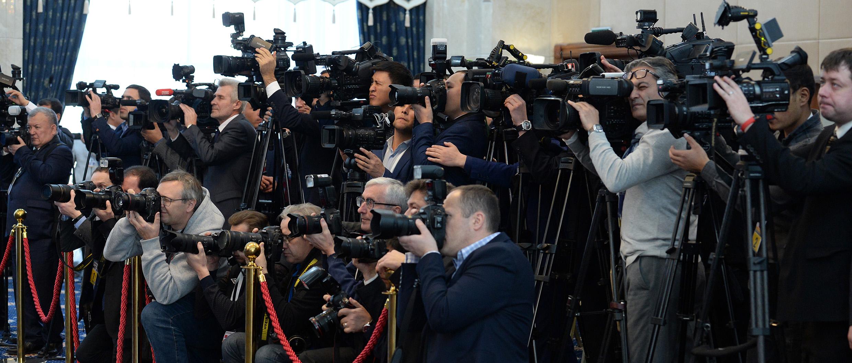 ЖККУнун Бишкектеги Саммитин 135 чет өлкөлүк жана 130 жергиликтүү журналисттер чагылдырууда