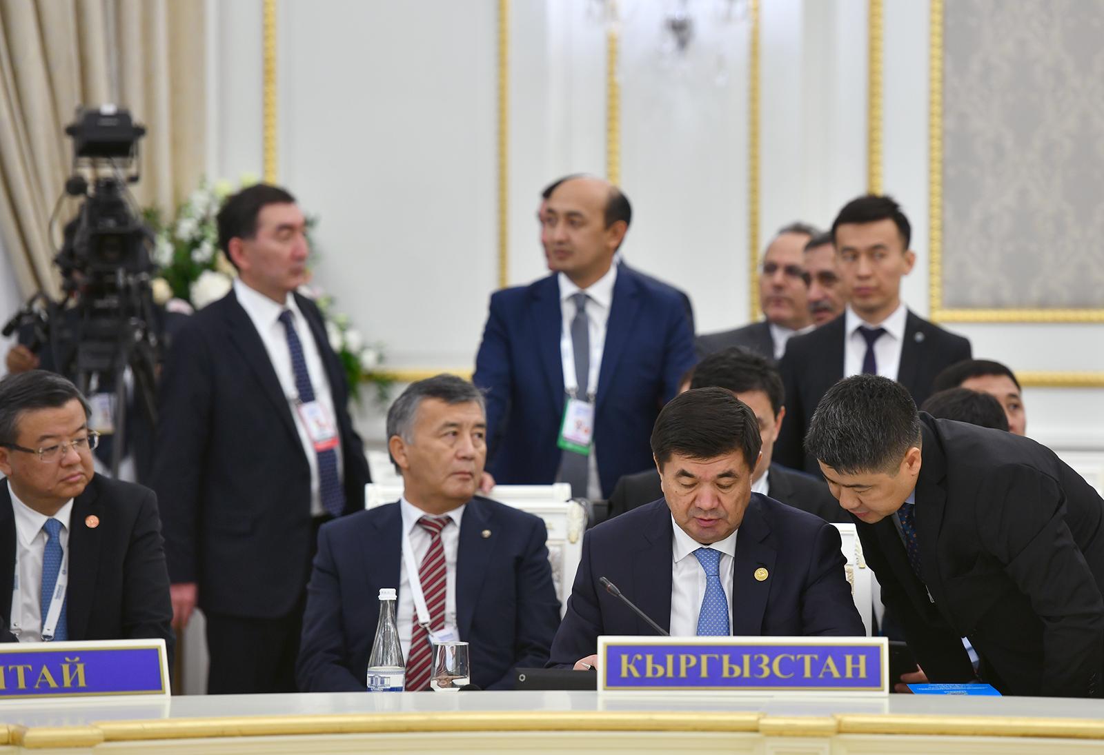 Ташкентте ШКУ жыйынында өкмөт башчылар бир катар документтерге кол коюшту — тизме