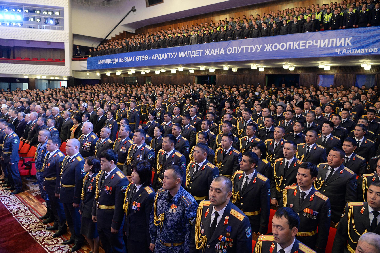 Кыргыз милициясына 95 жыл — фоторепортаж