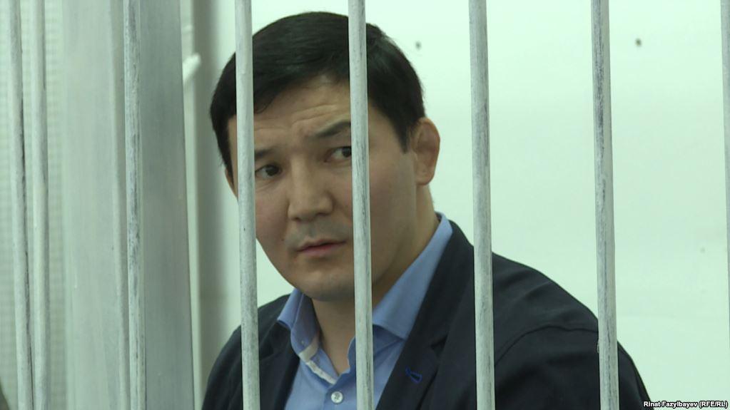 Экс-депутат Дамирбек Асылбек уулу №27түзөтүү абагында жаза өтөйт