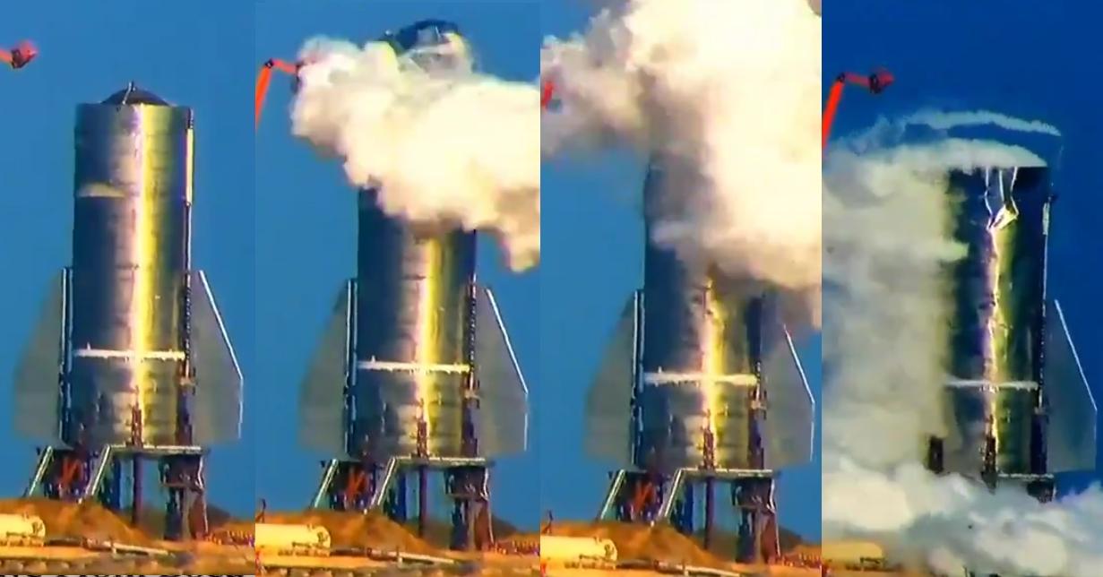 Илон Масктын Марска уча турган космостук кемеси сынак учурунда жарылып кетти