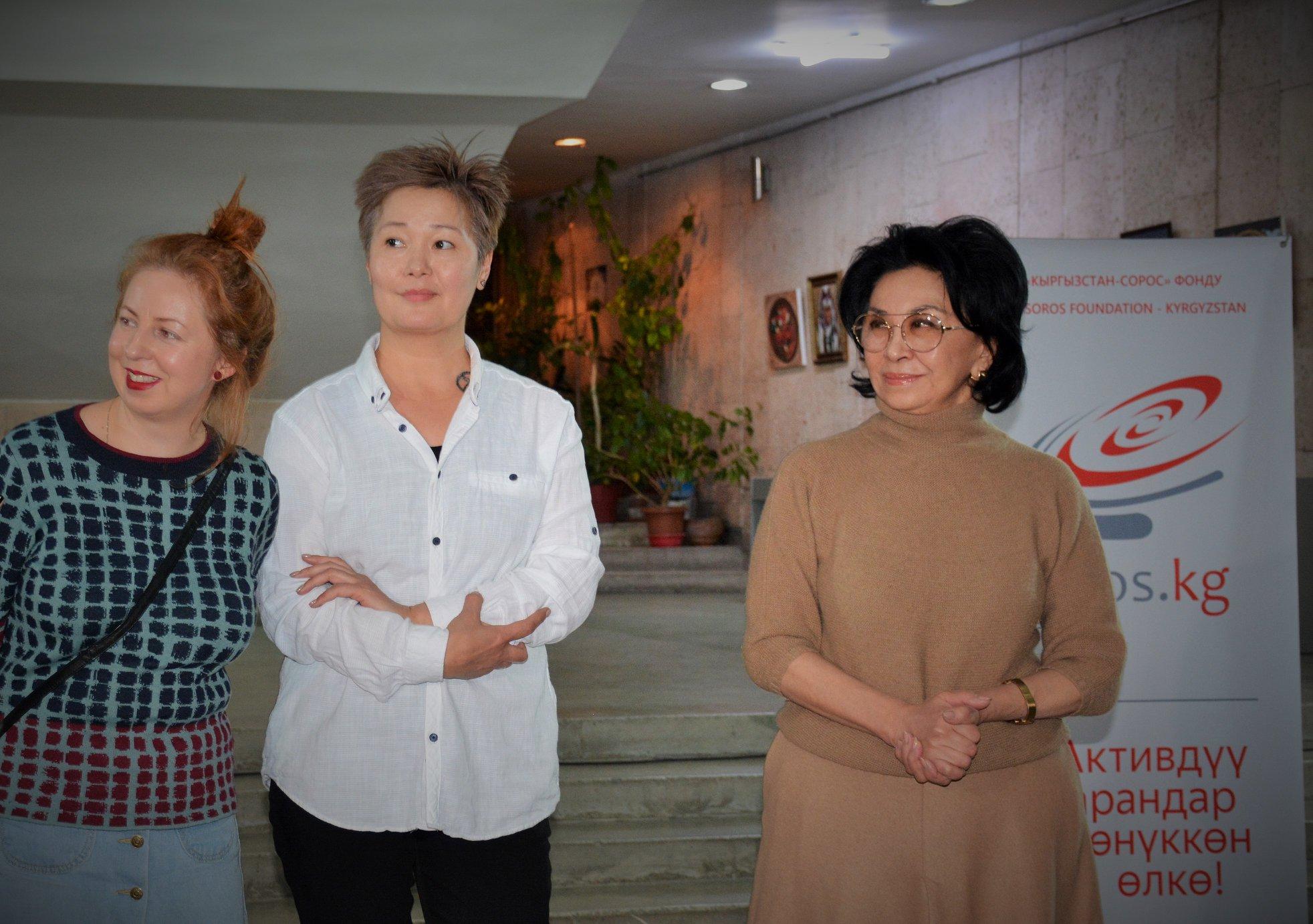 Бишкекте түндө феминисттердин куратору Айгүл Карабалинаны сабап кетишти