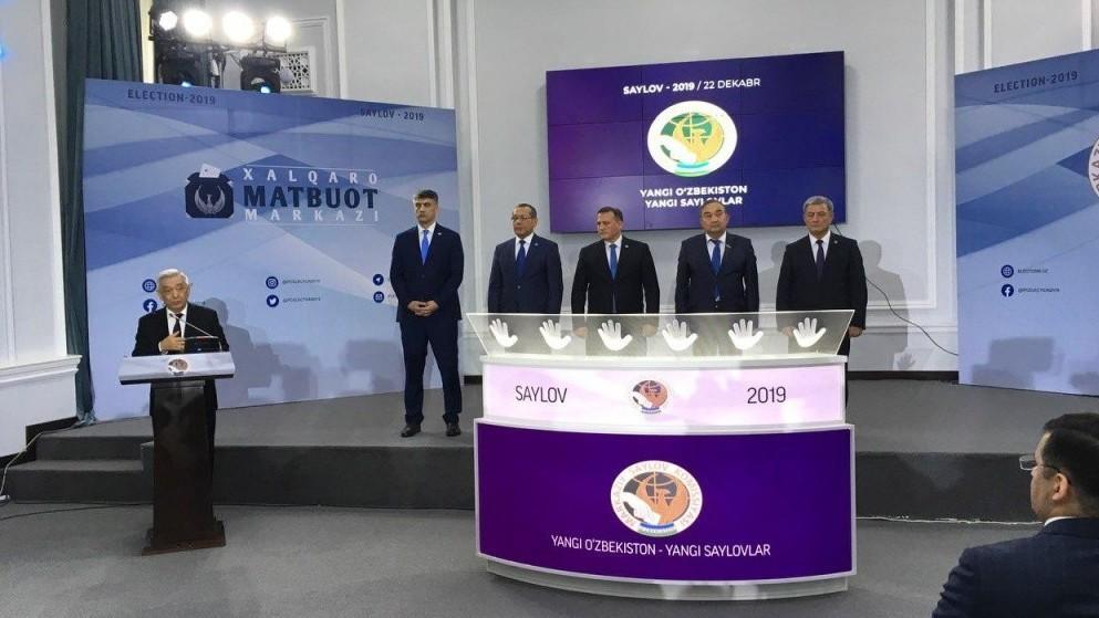 Өзбекстан БШКсы парламенттик шайлоодо беш партия өткөнүн айтты