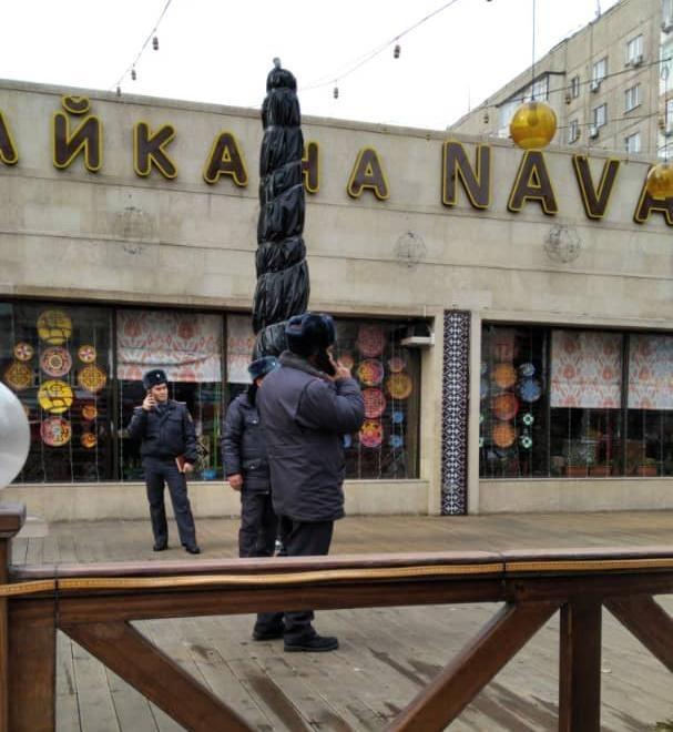"""Бишкекте """"Нават"""" чайханасынан өрт чыкты"""