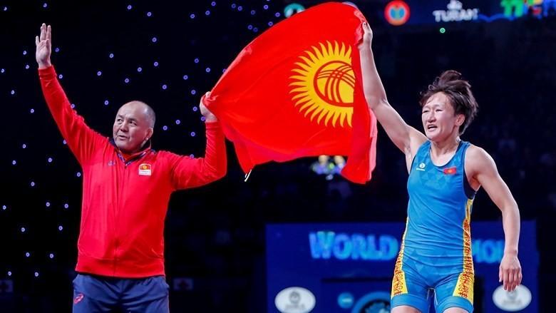 Айсулуу Тыныбекова Италияда өткөн мелдештен алтын медаль тагынды