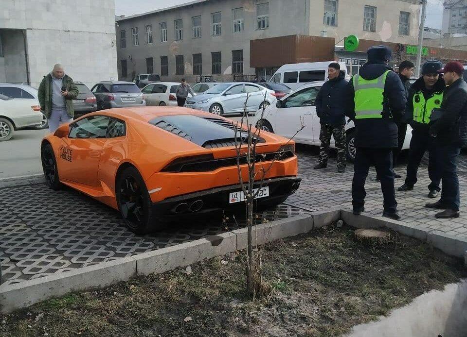 Lamborghini`нин номери өзгөрдү. Файзиев окуя боюнча эмне дейт?