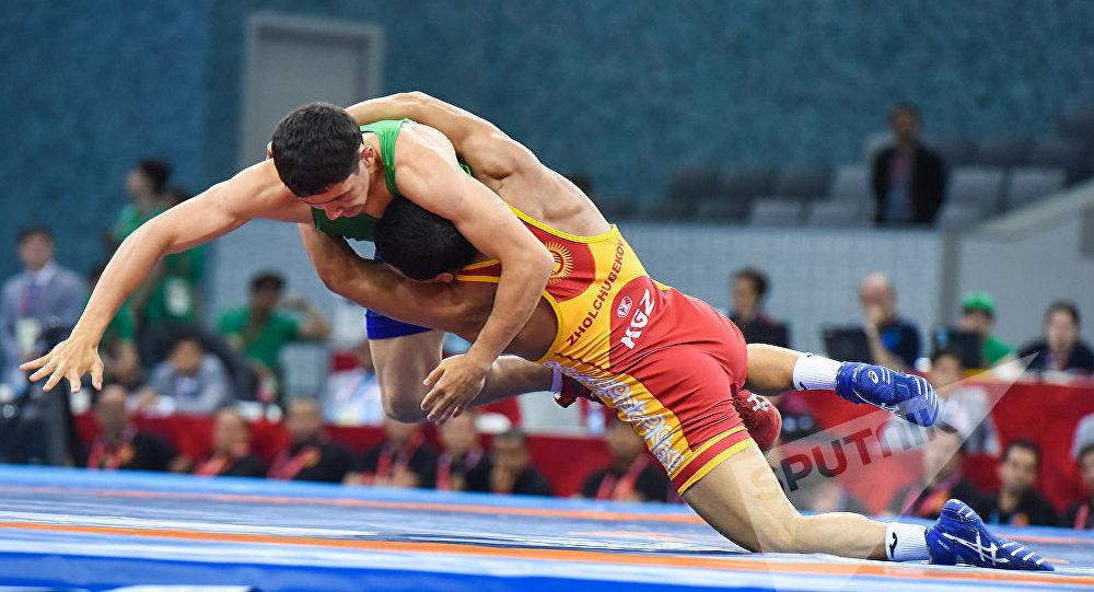 Кыргызстандын спортчулары Азия чемпионатында күрөш боюнча 11 медалга ээ болушту