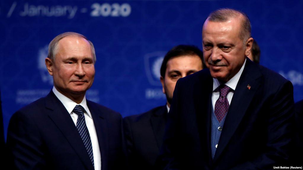 Орусия менен Түркиянын президенттери 5-мартта жолугушат