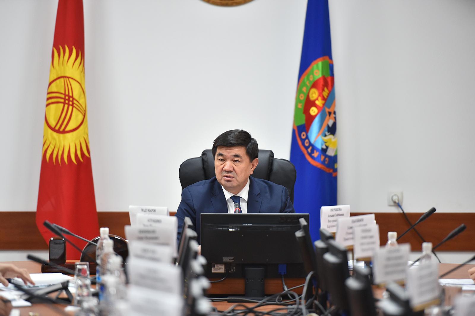 Абылгазиев: Кыргыз-кытай чек арасы жабык, альтернативдик рынокторду издөө керек