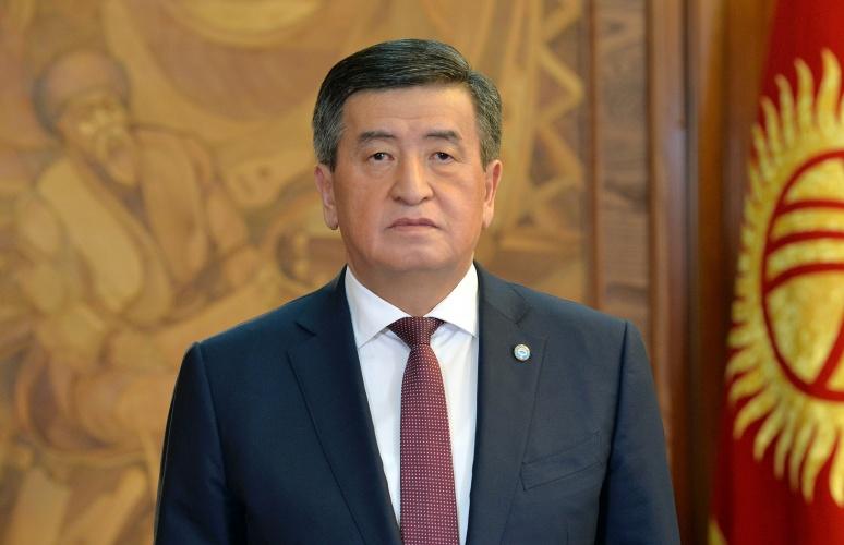 Жээнбеков коронавируска байланыштуу кыргызстандыктарга кайрылуу жасады — видео