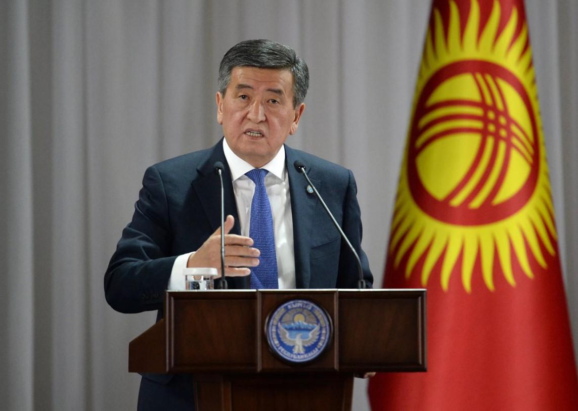 Президент ишсапары менен Баткен облусуна учуп кетти