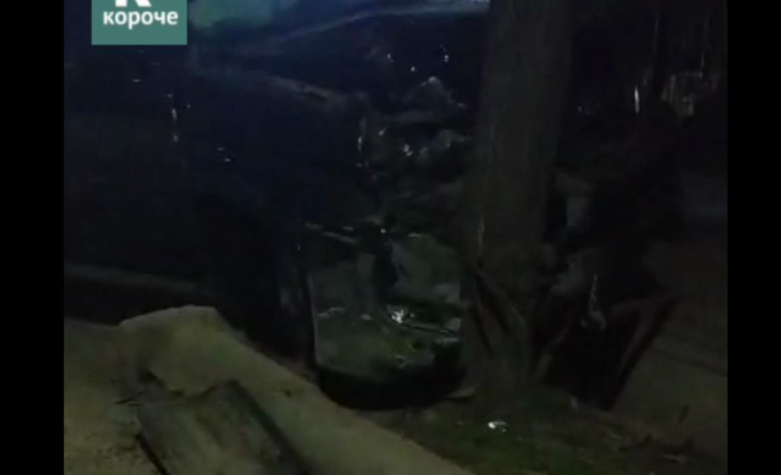 Бишкекте эки унаанын катышуусунда жол кырсыгы катталды — видео