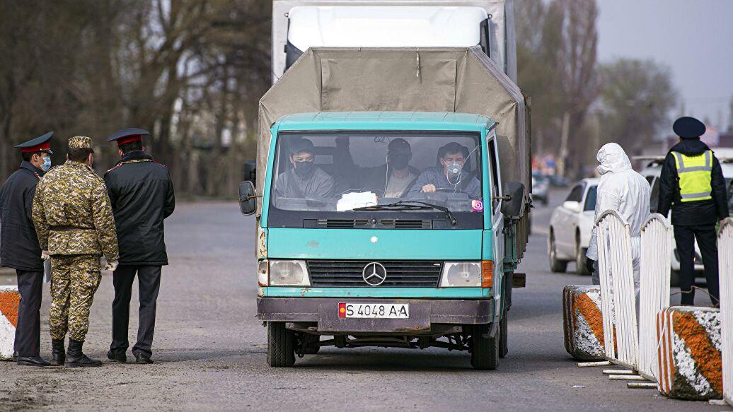 Бишкек шаарында орнотулган блокпосттордун тизмеси