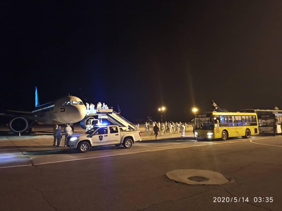Катар жана Кувейттен чартердик каттам менен кыргыз жарандары келди