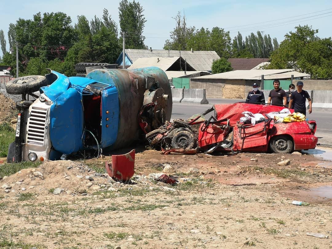 4 адам жабыркаган… Александровкадагы жол кырсыгынын чоо-жайы айтылды