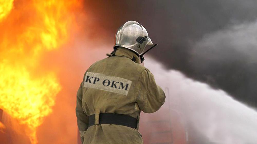 Бүгүн Бишкекте кафелердин биринде өрт чыкты