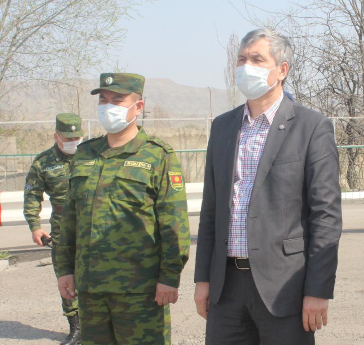 Кыргыз-Тажик чек арасы. Вице-премьер Акрам Мадумаров Баткенге кетти