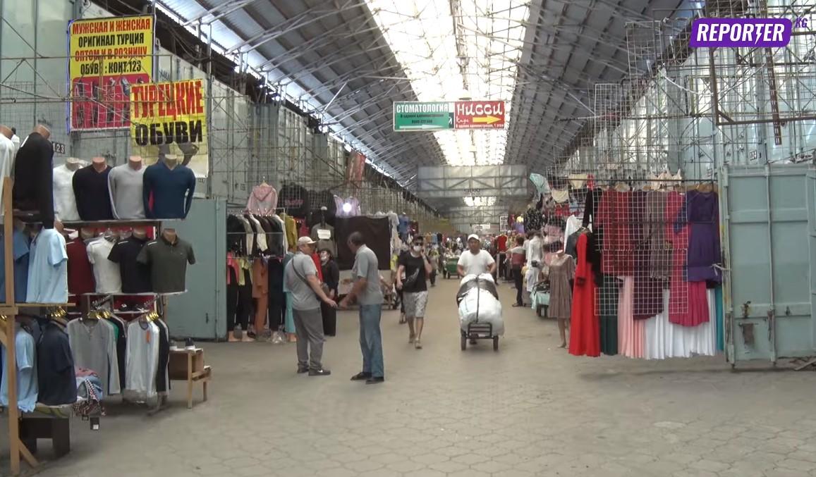 Штаб: Өлкөдөгү бардык базарларда беткап режими катуу сакталышы керек