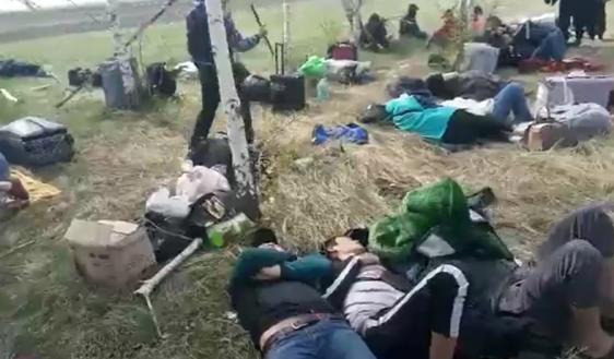 Оренбургда ай талаада калган кыргыз жарандары Бузулук районундагы балдар лагерине жайгаштырылды