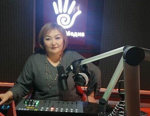 Баткендеги «Салам» радиосун жетекчиси, журналист Улукбү Амирова дүйнө салды