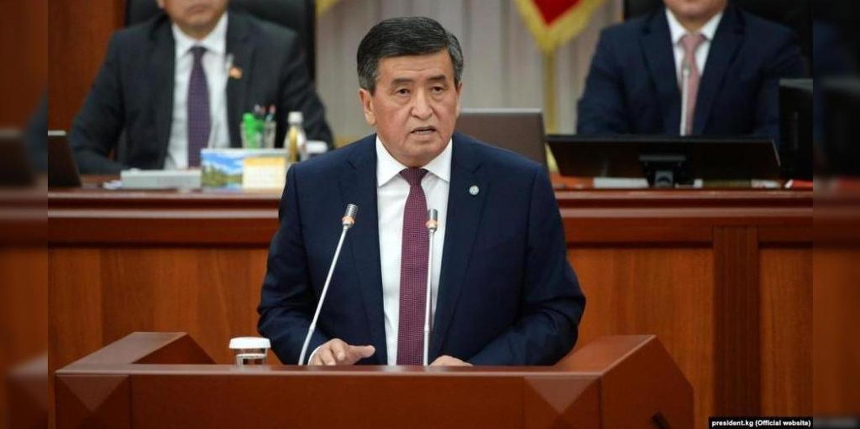 Жээнбеков: VI чакырылыштагы парламент өлкө үчүн абдан маанилүү чечимдерди кабыл алды