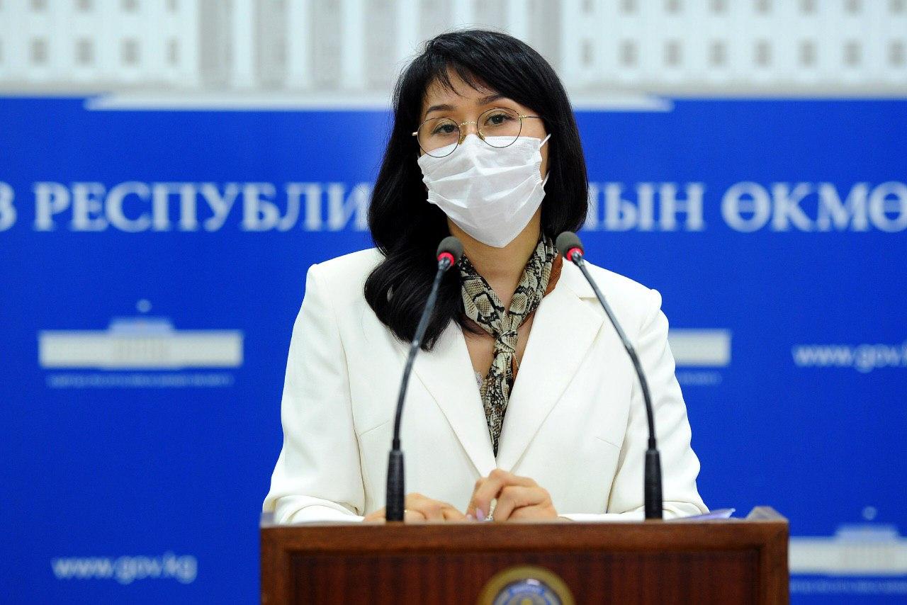 Исмаилова: Өкмөт акча адалдоо үчүн коронавирустун статистикасын көбөйтүүгө аракет кылбайт