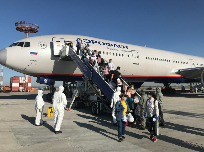 Орусиядан 437 кыргызстандык кайтып келди