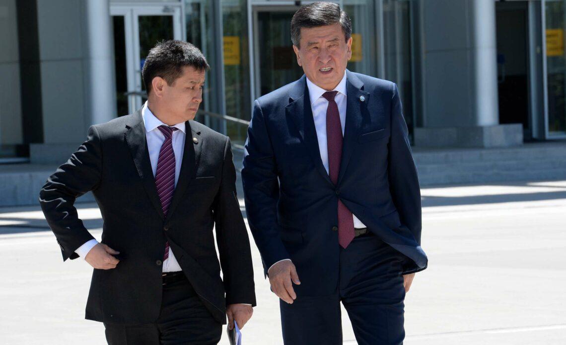 Президенттик аппараттын башчысы коронавируска чалдыкты