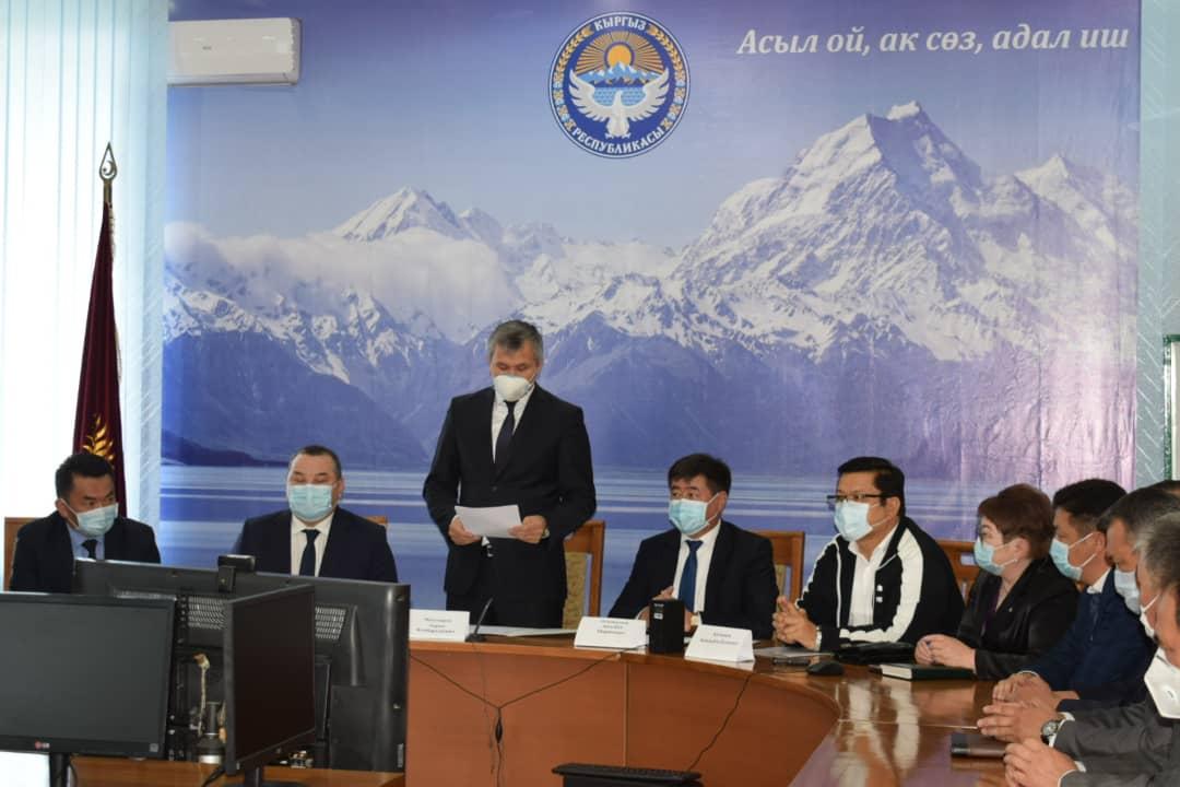 Балбак Түлөбаев Ысык-Көл администрациясынын эмгек жамаатына тааныштырылды