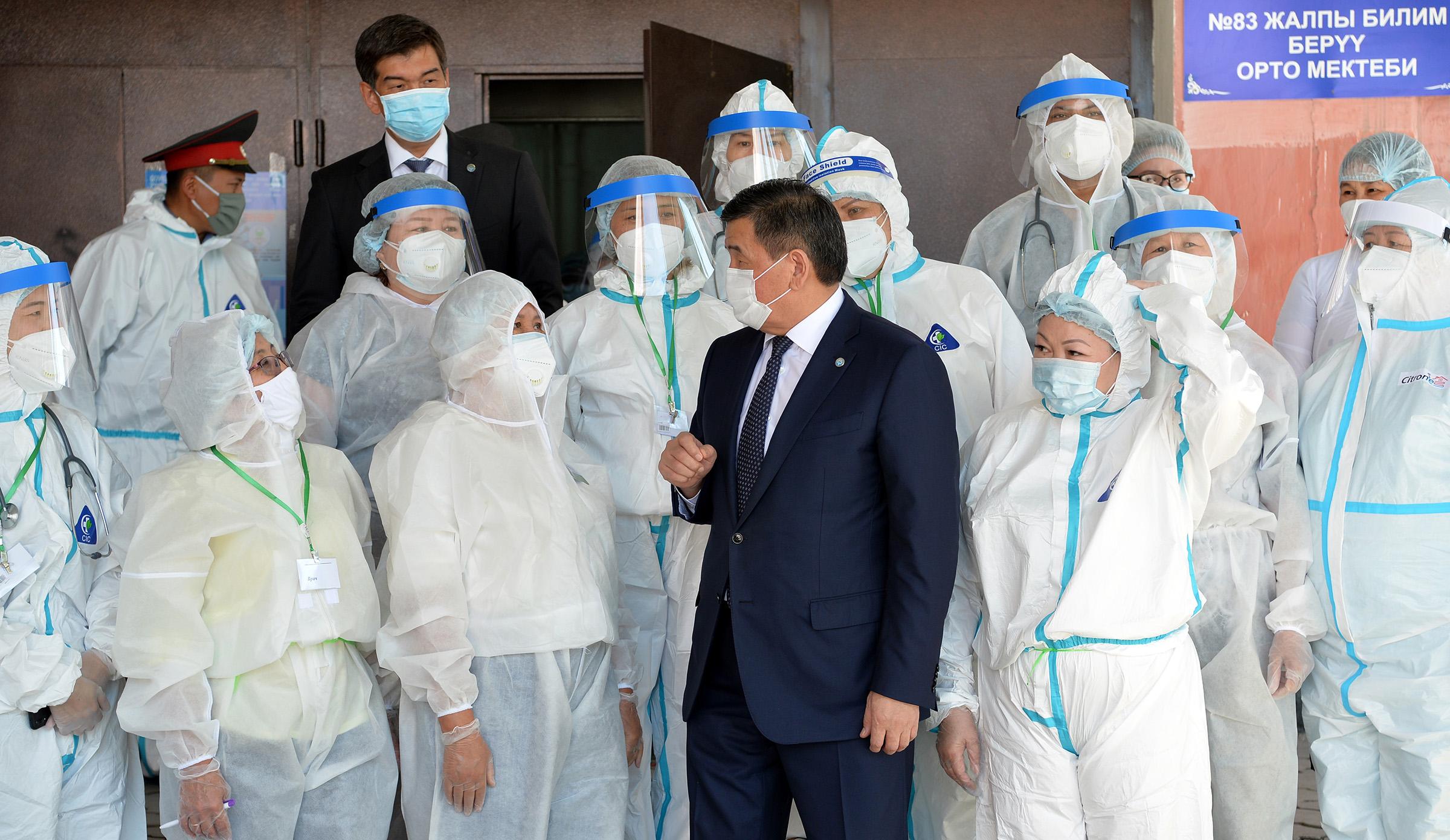 Жээнбеков: Бардык облуска заманбап оорукана салабыз