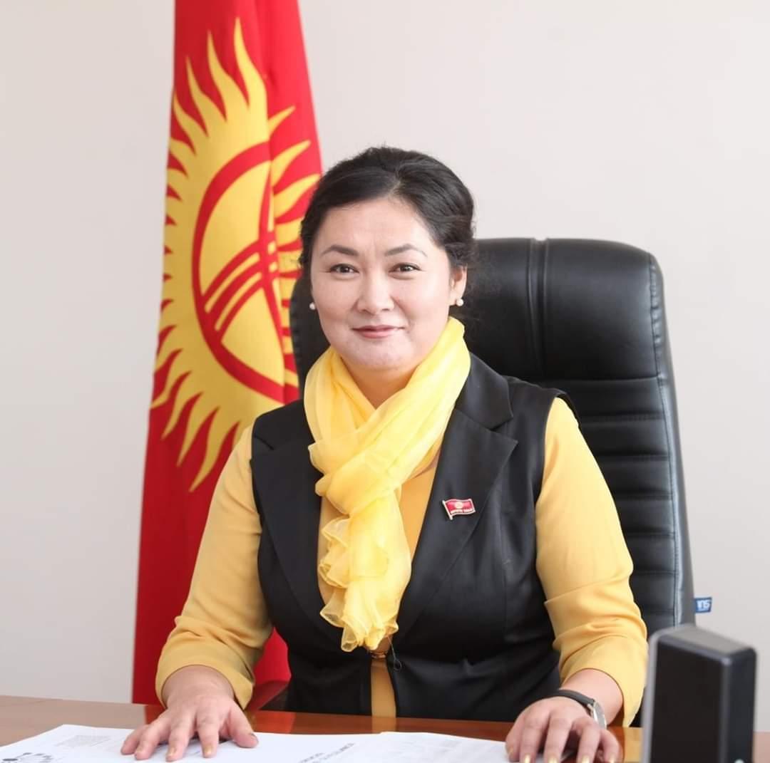 Ооруп жаткан депутат Мусабекова дарыгерлердин жардамына муктаж экенин айтып кайрылуу жасады