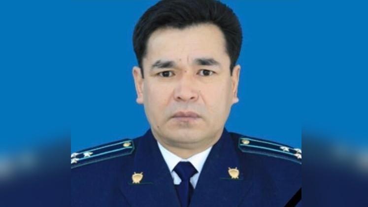 Сокулук районунун прокурору Бактыбек Сыргаков каза болду