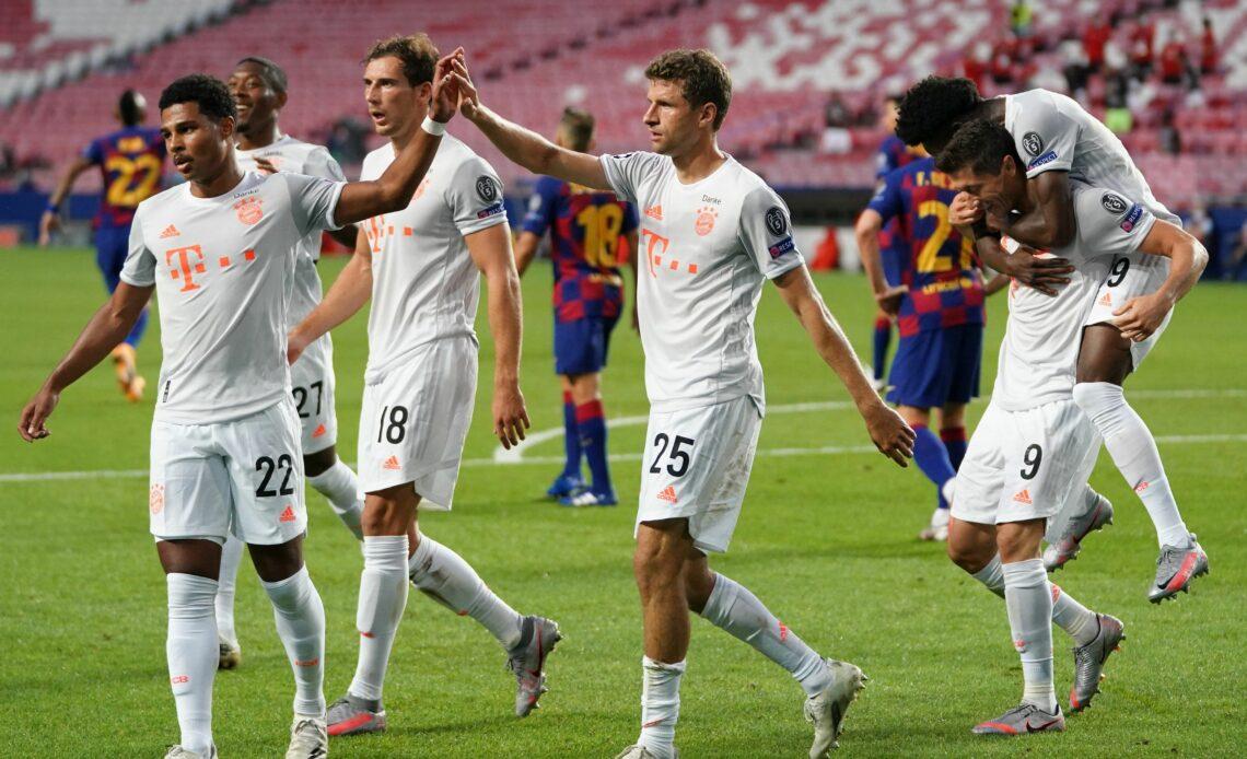 «Бавария» «Барселонага» каршы 8 гол киргизип, чемпиондор лигасынын жарым финалына өттү