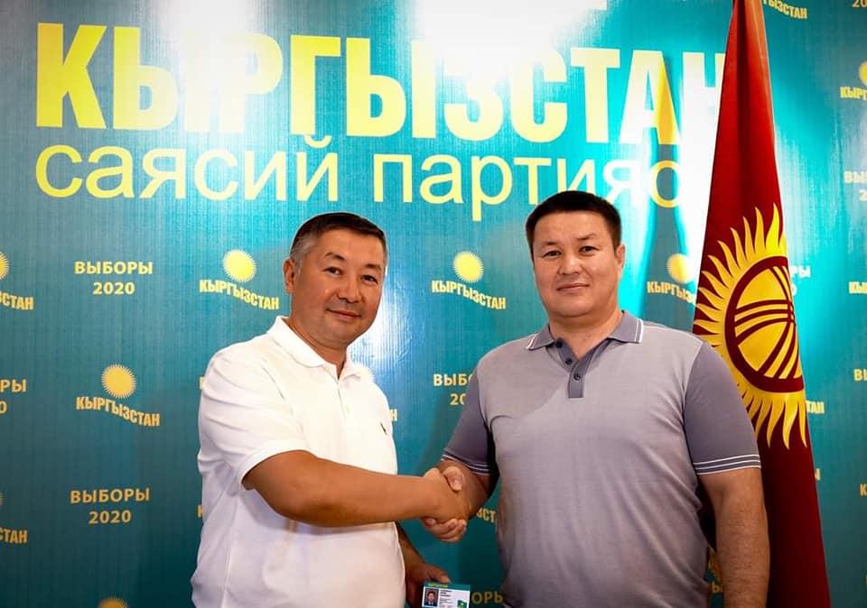 Талант Мамытов менен Даир Кенекеев «Кыргызстан» партиясына кошулду