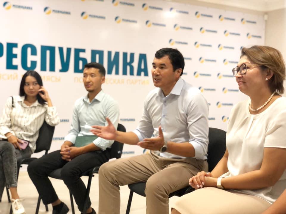 Узарбек Жылкыбаев «Республика» менен шайлоого аттанды