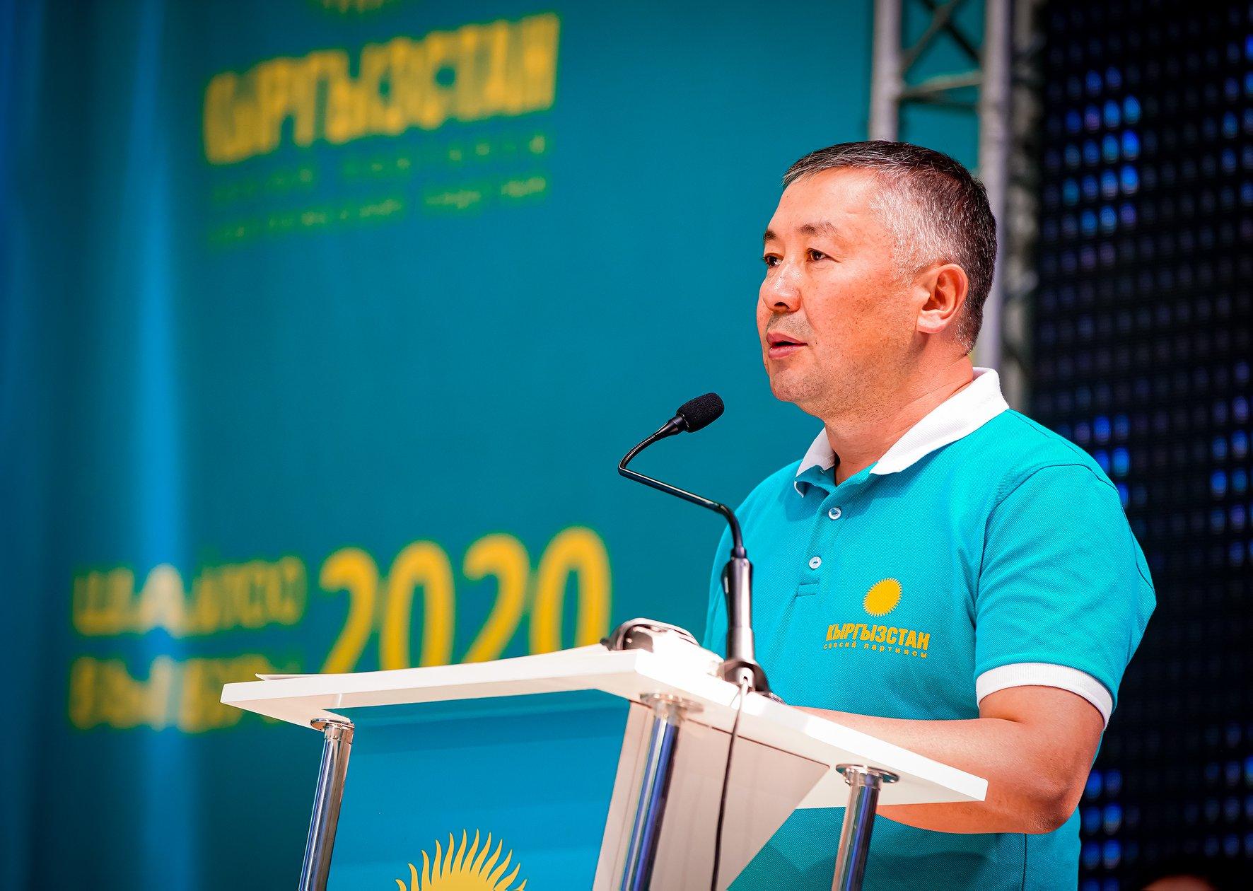 """Канат Исаев: """"Кыргызстан"""" эң туруктуу фракция"""