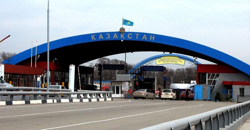 Казакстан Кыргызстан менен чек арадагы өткөрмө бекеттеринин баарын ачты