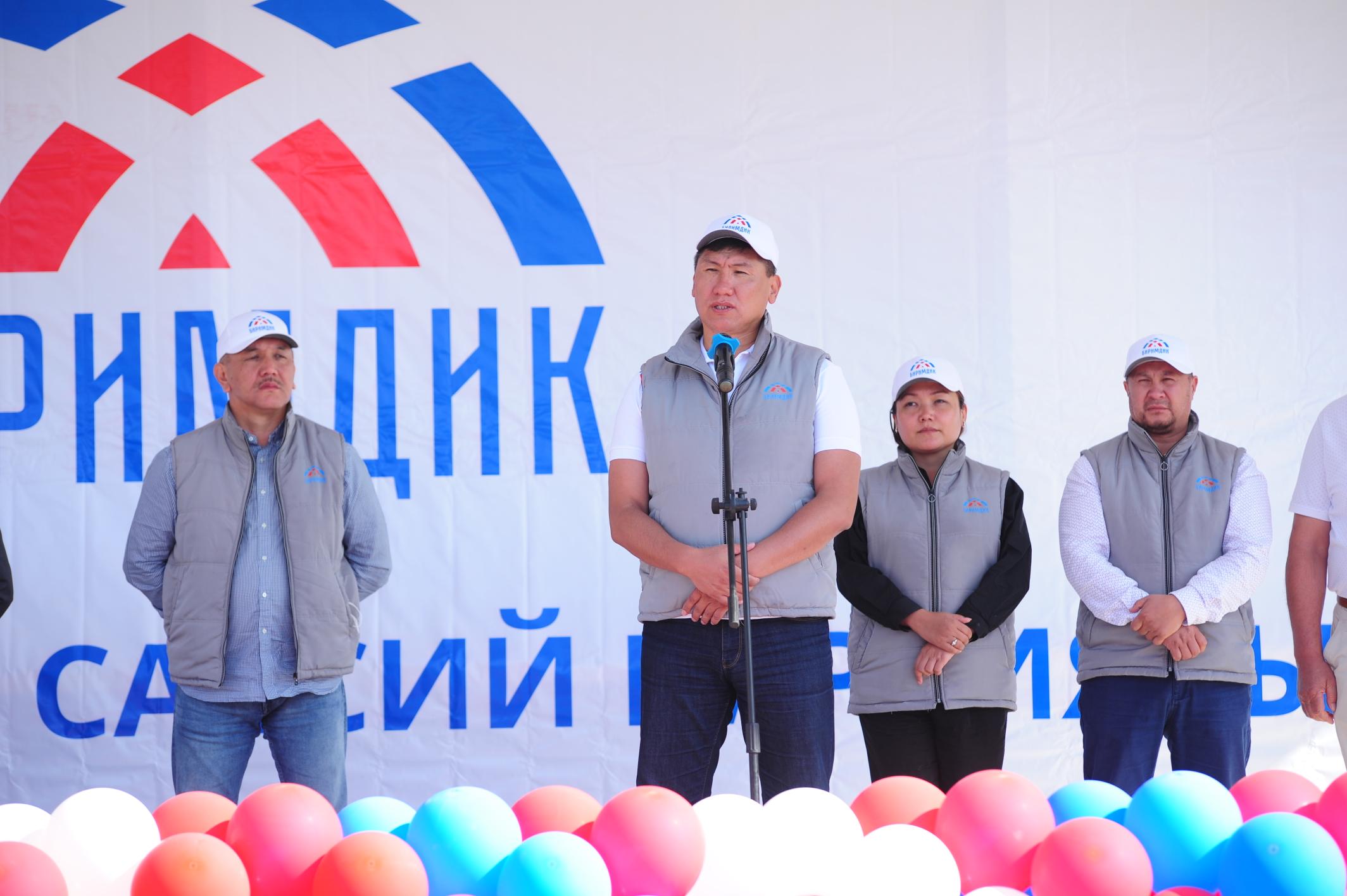 Улукбек Кочкоров: «Биримдик» жергиликтүү ѳндүрүшчүлѳрдү колдой турган механизмди сунуштап жатабыз