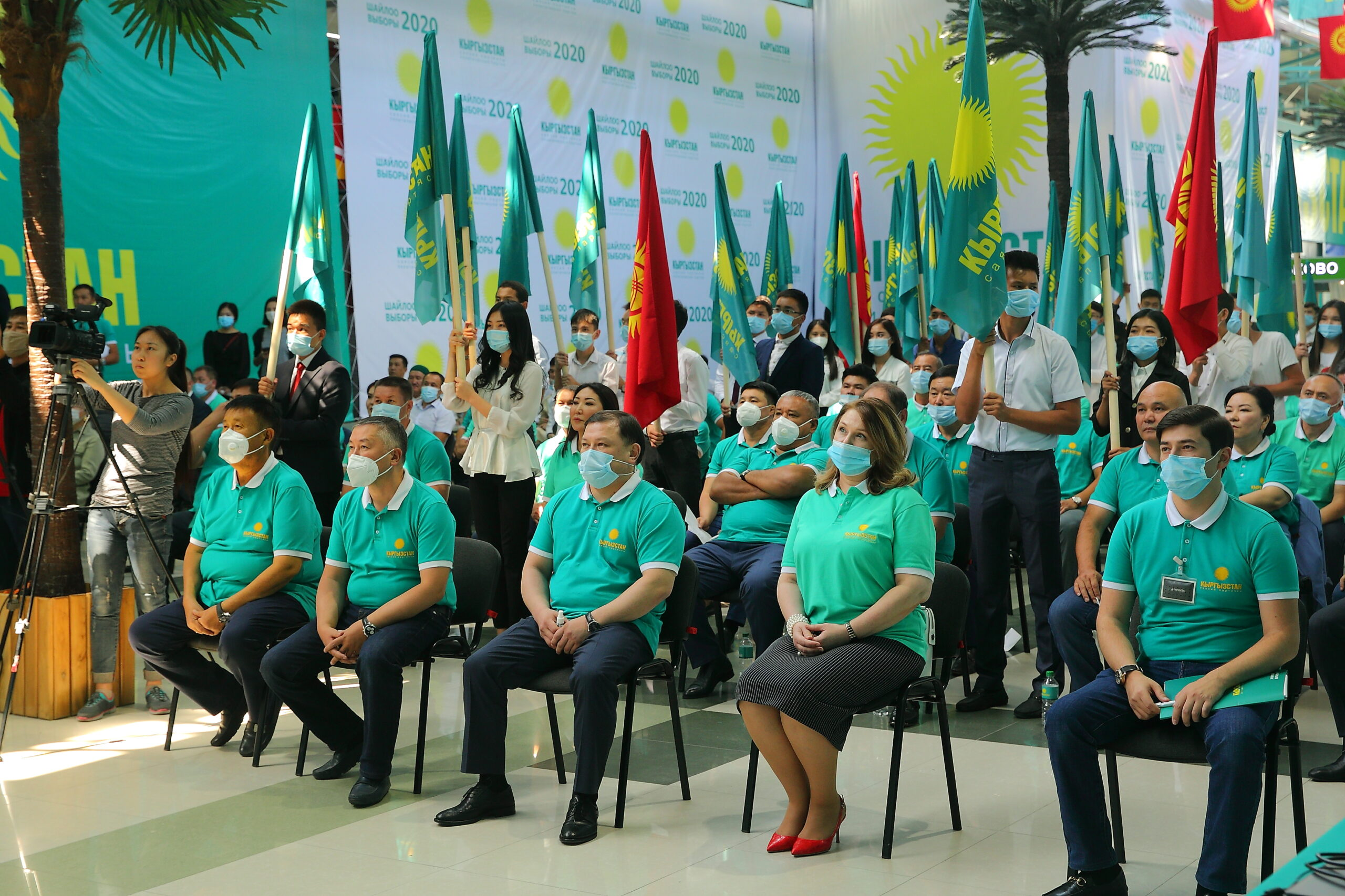 «Кыргызстан» партиясынан шайлоого аттанган алдыңкы 20 талапкердин тизмеси