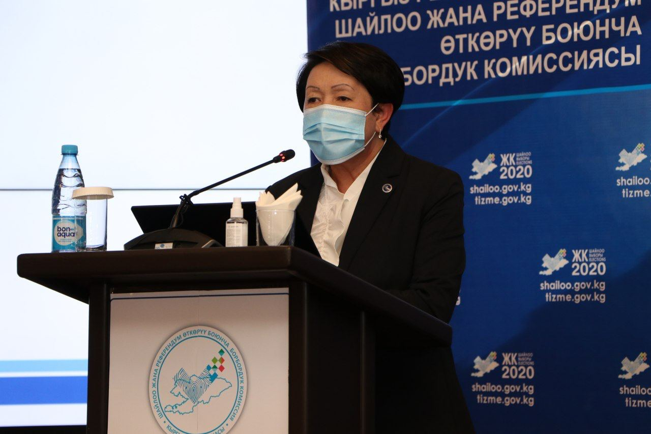 Добуш берүүнүн алдын-ала жыйынтыктары боюнча «Мекеним Кыргызстан» партиясы алдыда