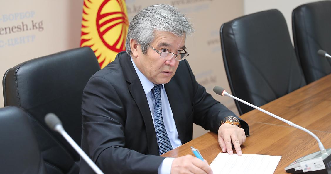 Сүйүнбек Касмамбетов Президенттик Аппараттын жетекчиси болуп дайындалды