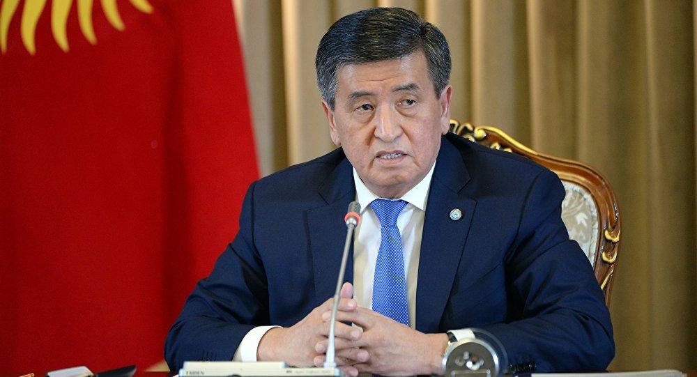 Садыр Жапаров: Президент арыз жазып кызматтан кетет