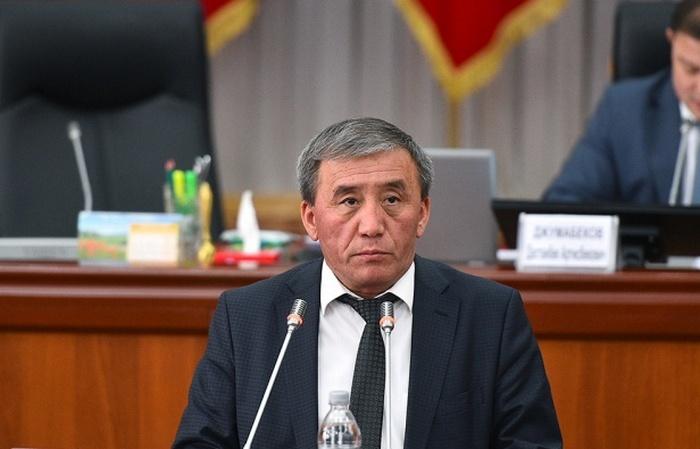 Айыл чарба министри Эркинбек Чодуев кызматтан алынды