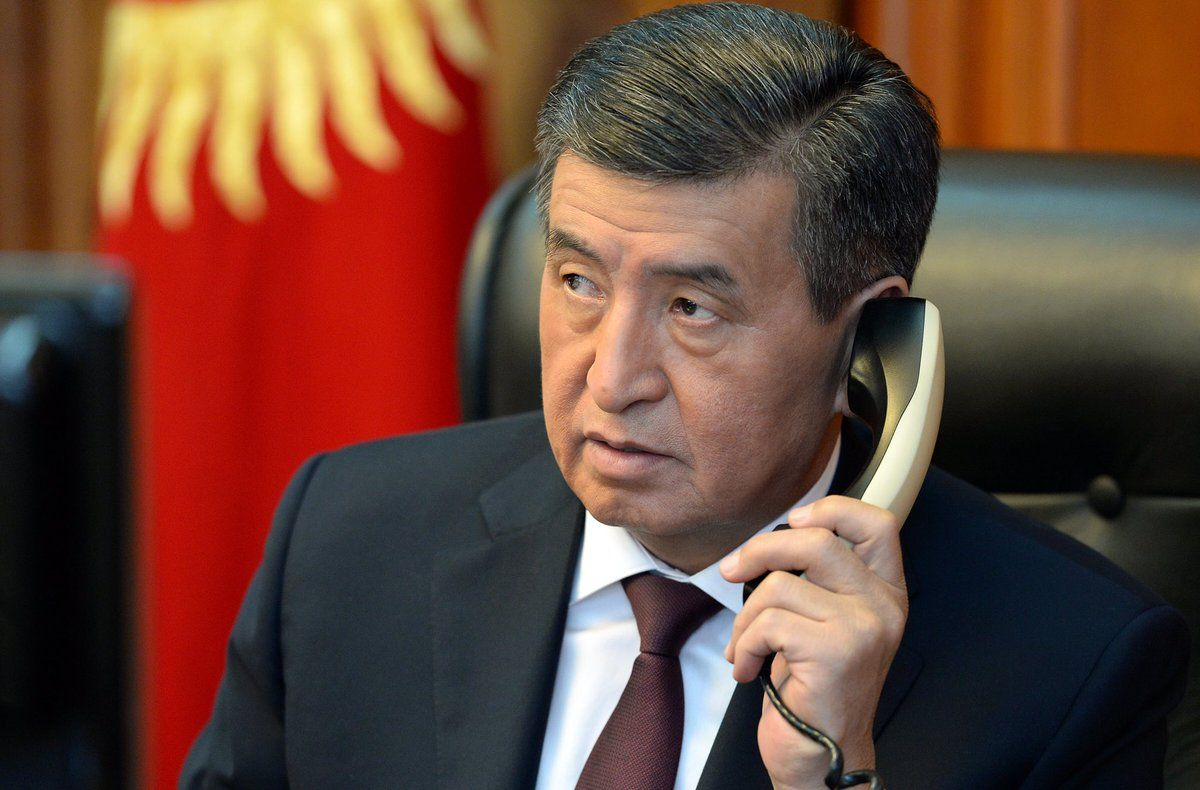 Президент жаңы төрагага телефон чалды