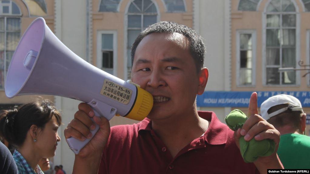 Активист Айбек Бузурманкулов өкмөттүн Таластагы өкүлү болуп дайындалды