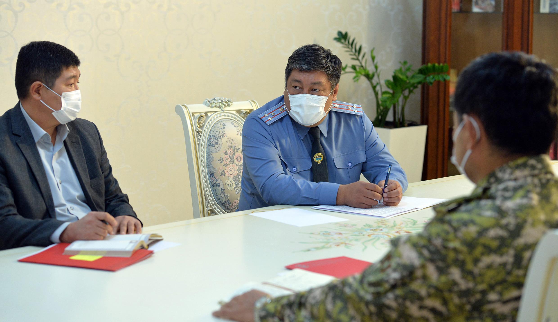 Алмазбек Орозалиев Бишкектин аймагында өзгөчө абалды узартууну сунуш кылды
