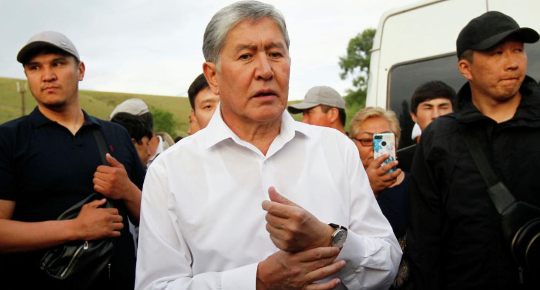 УКМК: Алмазбек Атамбаев кармалды